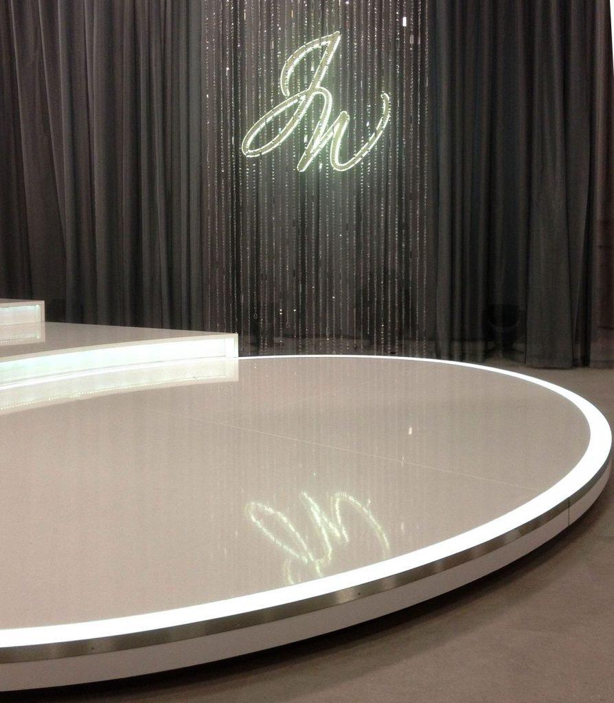 <p>Judith Williams, Studio-Ausstattung, Setbau, Auftraggeber: HSE24</p>