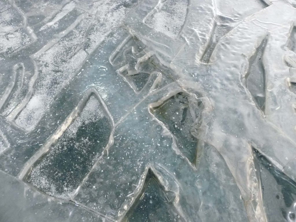 <p>Wickie 2: Eislandschaft, Oberflächengestaltung, Umsetzung mit Saurus, Auftraggeber: Constantin Film</p>