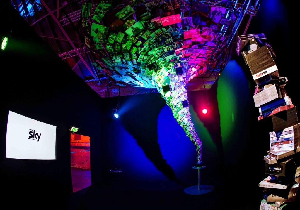 <p>Event-Design, Auftraggeber: Sky</p>
