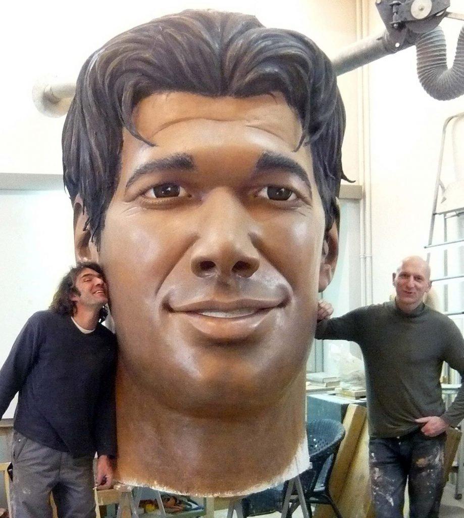 <p>Ballack-Portrait, 2,50m</p>