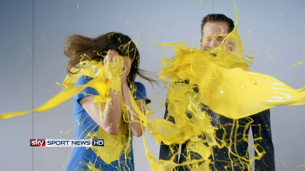 <p>Sky DeadlineDay, Set-Design/Farbmanagement, TV-Spot</p>
