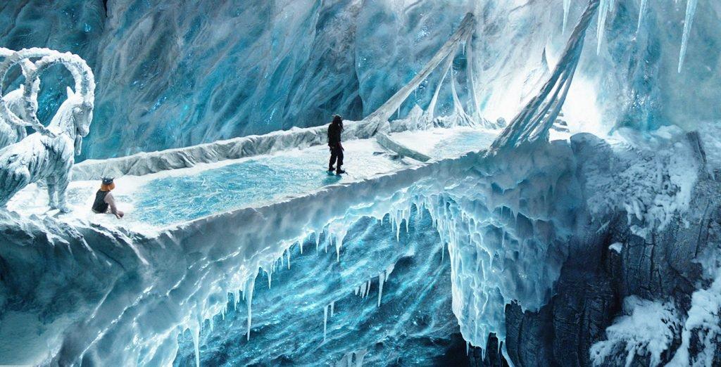 <p>Wickie 2: Eislandschaft, Filmset, Umsetzung mit Saurus, Auftraggeber: Constantin Film</p>