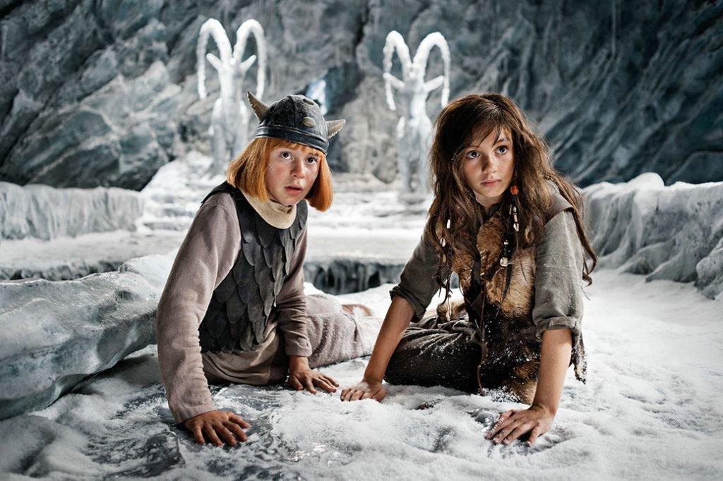 <p>Wickie 2: Eislandschaft, Szenenbild, Umsetzung mit Saurus, Auftraggeber: Constantin Film</p>