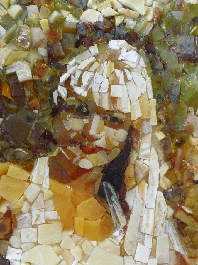 <p>Bernstein-Mosaik, Umsetzung eines Kunstprojekts</p>