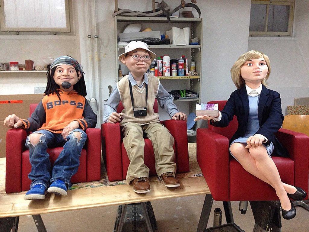 <p>Puppen in Bewegung, mechanischer Museumsbau, Umsetzung mit Saurus, Auftraggeber: Museum Havelberg</p>