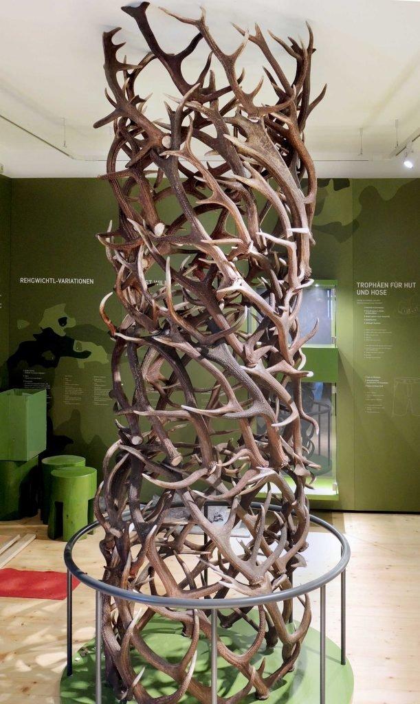 <p>Jagd und Fischereimuseum in Freyung, Museumsbau, Ausführung mit Saurus</p>
